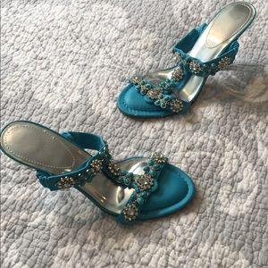 Shoes - Size 7 embellished sandals